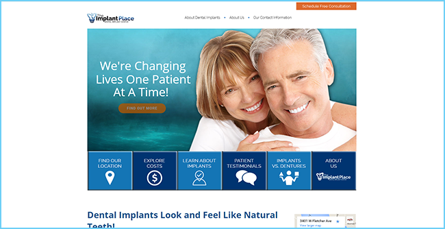 Website Design - RPM Dental