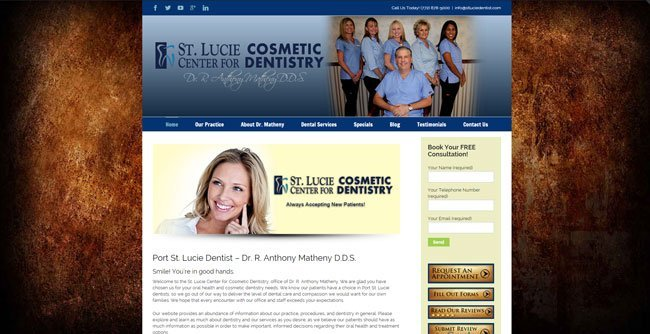 St. Lucie Center for Cosmetic Dentistry